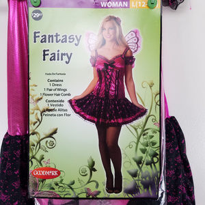 Fantasy Fairy Costume 12-14 Large Halloween